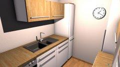 Raumgestaltung Küche parallel2 in der Kategorie Küche