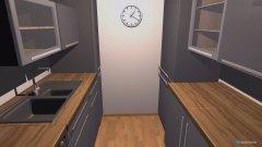 Raumgestaltung Küche parallel in der Kategorie Küche