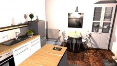 Raumgestaltung Küche privat in der Kategorie Küche