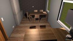 Raumgestaltung Küche und Esszimmer in der Kategorie Küche