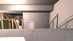 Raumgestaltung Küche und Wohnzimmer in der Kategorie Küche