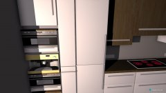Raumgestaltung Küche v1 in der Kategorie Küche