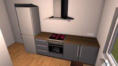 Raumgestaltung Küche Vorderhaus in der Kategorie Küche