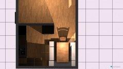 Raumgestaltung Küche+Wohnzimmer Variante 2 in der Kategorie Küche
