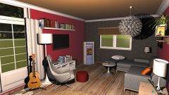 Raumgestaltung Küche Wohnzimmer1 in der Kategorie Küche