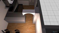 Raumgestaltung Küche + Wohnzimmer in der Kategorie Küche