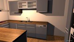 Raumgestaltung Küche+Wohnzimmer in der Kategorie Küche