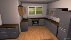 Raumgestaltung Küche001 in der Kategorie Küche