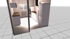 Raumgestaltung Kueche1 in der Kategorie Küche