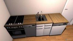 Raumgestaltung Kueche in der Kategorie Küche
