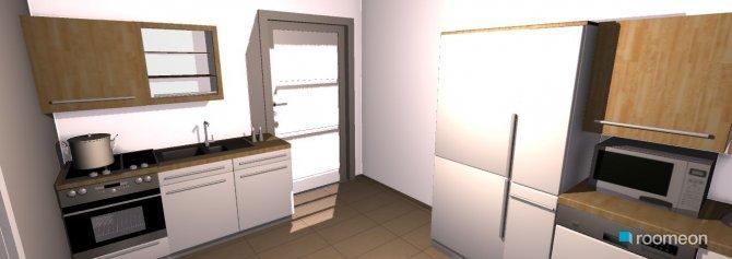 Raumgestaltung küche in der Kategorie Küche