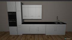 Raumgestaltung Küchenfarbkombi in der Kategorie Küche