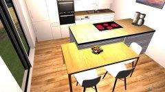 Raumgestaltung Kücke in der Kategorie Küche