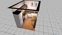 Raumgestaltung küsche in der Kategorie Küche