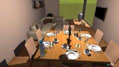 Raumgestaltung Livingroom in der Kategorie Küche
