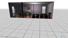 Raumgestaltung Lounge in der Kategorie Küche