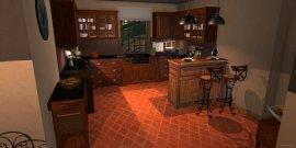 Raumgestaltung Luberon Küche in der Kategorie Küche