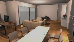 Raumgestaltung Mario V08-Wohnbereich o. Mauer in der Kategorie Küche