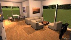 Raumgestaltung Mario V10-Wohnbereich mit Mauer im Grundriss in der Kategorie Küche