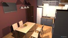 Raumgestaltung Mira's Kitchen in der Kategorie Küche
