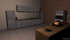 Raumgestaltung mit esszimmer in der Kategorie Küche