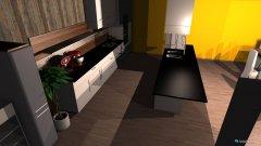 Raumgestaltung moderne in der Kategorie Küche