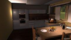 Raumgestaltung ob+kuch2 in der Kategorie Küche