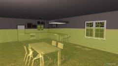 Raumgestaltung obyvačka a kuchyňa in der Kategorie Küche