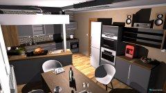 Raumgestaltung pokus2 in der Kategorie Küche