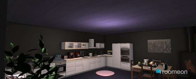 Raumgestaltung pretty kitchen in der Kategorie Küche