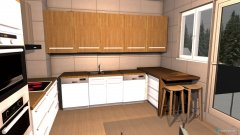 Raumgestaltung prueba cocina 3 in der Kategorie Küche