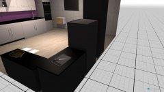 Raumgestaltung Purple kitchen in der Kategorie Küche