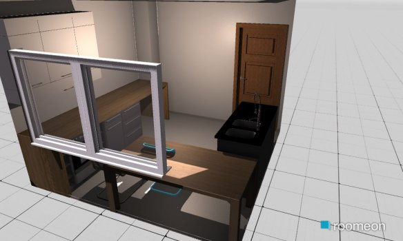 Raumgestaltung Raum 3 in der Kategorie Küche