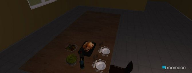 Raumgestaltung room3 in der Kategorie Küche