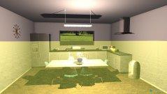 Raumgestaltung Sala-Cozinha in der Kategorie Küche