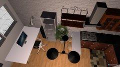 Raumgestaltung Salon i kuchnia in der Kategorie Küche