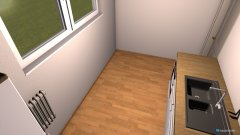 Raumgestaltung Sandra 2 in der Kategorie Küche