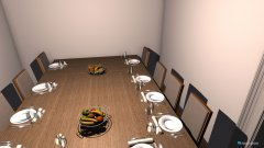 Raumgestaltung Speiseraum in der Kategorie Küche