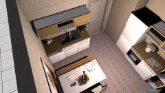 Raumgestaltung Tante Evas Küche 2 in der Kategorie Küche