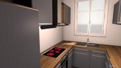 Raumgestaltung U-FÖRMIGE KÜCHE in der Kategorie Küche