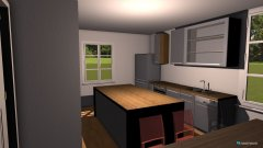 Raumgestaltung umbau erter Versuch in der Kategorie Küche