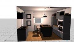 Raumgestaltung Untermaßfeld in der Kategorie Küche