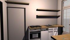 Raumgestaltung Von-Kluck-Str Küche in der Kategorie Küche