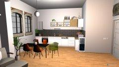 Raumgestaltung WE.A.1.4 in der Kategorie Küche