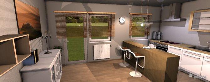 Raumgestaltung whg1 in der Kategorie Küche