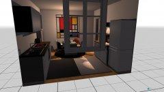 Raumgestaltung Wien - 6ter Bezirk, Altbau modern eingerichete Singlewohnung 2 in der Kategorie Küche