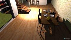 Raumgestaltung wohn-Esszimmer+Küche in der Kategorie Küche