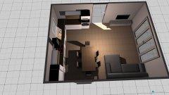 Raumgestaltung Wohn-Esszimmer mit Küche Teil 1 in der Kategorie Küche
