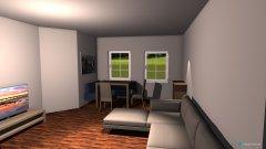 Raumgestaltung wohn küche 2 in der Kategorie Küche
