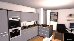 Raumgestaltung Wohnen-Essen-1-5-Alternative in der Kategorie Küche